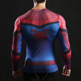 HelloDefiance, Spiderman Long-Sleeve Fitness Shirt, best, HelloDefiancecheap
