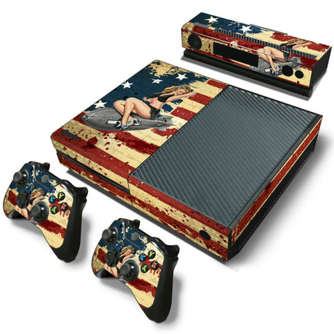 HelloDefiance, American Pin-Up Girl - Xbox One Protector, best, HelloDefiancecheap