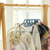 Versatile Space Saver Clothing Hanger