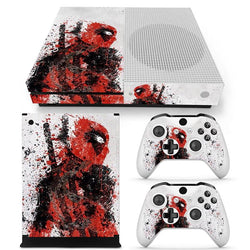 Deadpool Splatter Skin - Xbox One Slim Protector