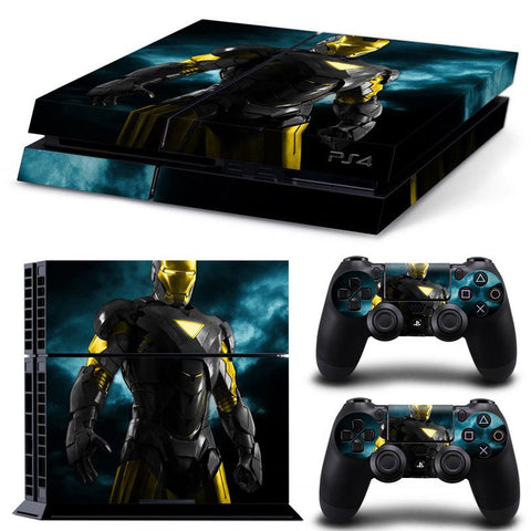 IronInversion Skin - Playstation 4 Protector
