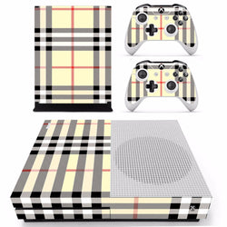 Fashion Plaid Skin - Xbox One Slim Protector