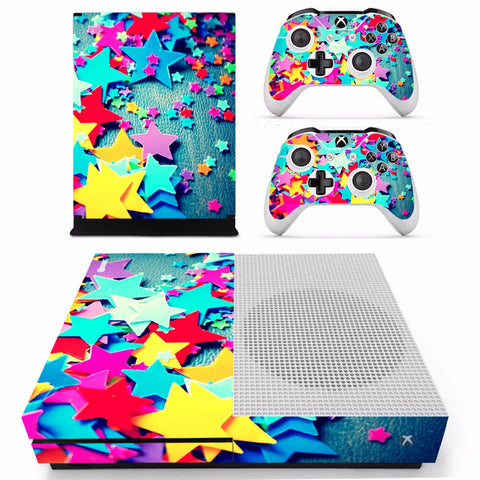 Crafty Star Skin - Xbox One Slim Protector