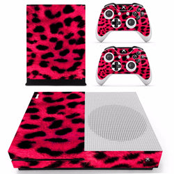 Red Cheetah Skin - Xbox One Slim Protector