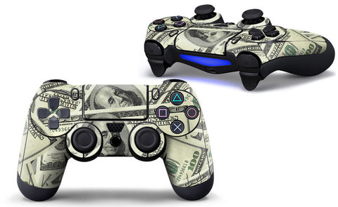 Make It Rain Skin - PS4 Controller Protector