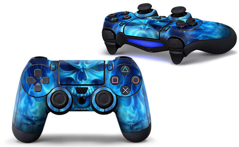 Airbrushed Skull Skin - PS4 Protector