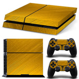 HelloDefiance, Brushed Gold Skin - PS4 Protector, best, HelloDefiancecheap