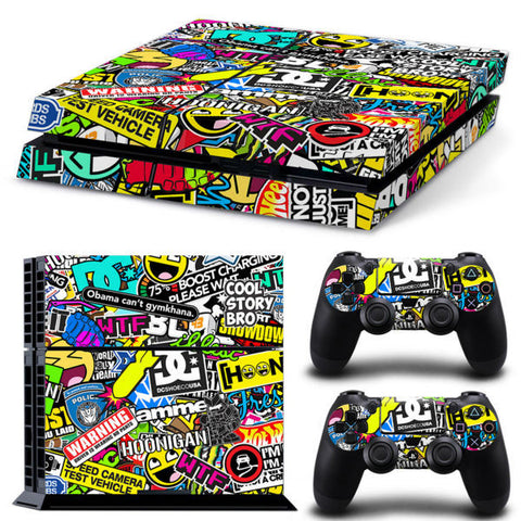 StickerBomz Skin - PS4 Protector