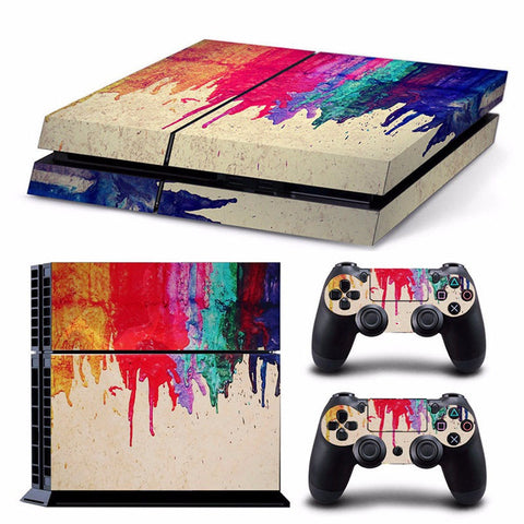 HelloDefiance, Bleeding Colors Skin - PS4 Protector, best, HelloDefiancecheap