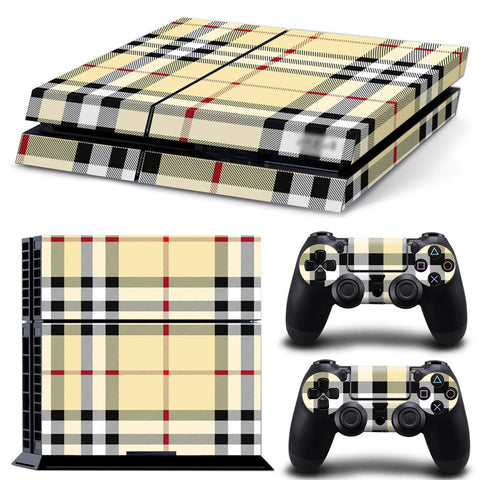 Fashion Plaid Skin - PS4 Protector
