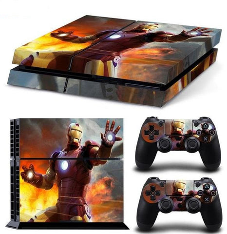 HeavyMetal Skin - Playstation 4 Protector