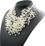 Pearl Cordelia Decorated Necklace
