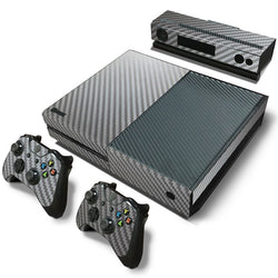 Grey Carbon Fiber Skin - Xbox One Protector
