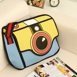 HelloDefiance, 2D Camera Ladie's Messenger's Bag, best, HelloDefiancecheap