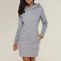 HelloDefiance, Cupid Hoodie Dress W/ Pockets, best, HelloDefiancecheap