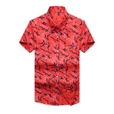 KikFlip Short Sleeve Button-Up