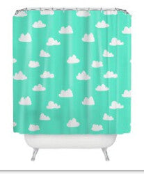 HelloDefiance, Cloudy Shower Curtain, best, HelloDefiancecheap