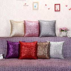 GlitterShine Sequin Pillow Case