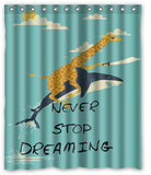 StayDreamer Shower Curtain