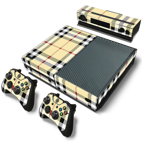 Fashion Plaid Skin - Xbox One Protector