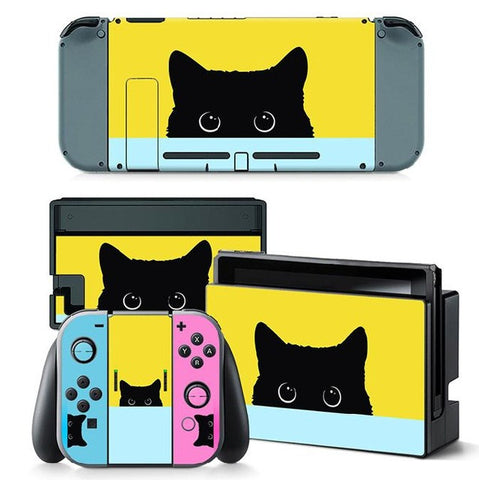 HelloDefiance, Cat In The Box Skin - Nintendo Switch, best, HelloDefiancecheap