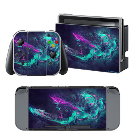 HelloDefiance, Aquatik Skin Sticker  Skin - Nintendo Switch, best, HelloDefiancecheap