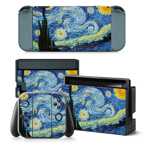 Starry Night Skin - Nintendo Switch