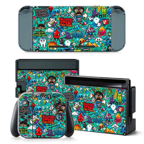 Sweat Vector Skin - Nintendo Switch