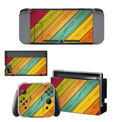 Panello Wood Skin - Nintendo Switch