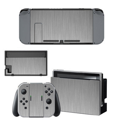 Grey-dient Wood Skin - Nintendo Switch