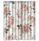 Etiquette Floral Shower Curtain