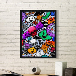 Street Culture Frame Art - Anim8