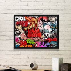 Street Culture Frame Art - MaSkully