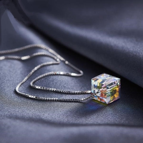 Infinity Cube Necklace