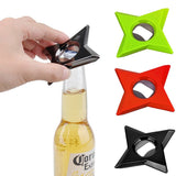 Ninja Star Bottle Opener