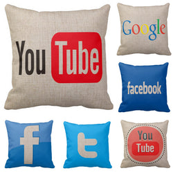 Socialz Pillow Cases