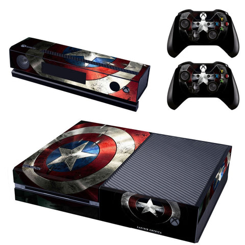 HelloDefiance, Captain America Skin - Xbox One Protector, best, HelloDefiancecheap