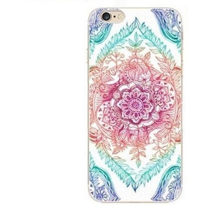 HelloDefiance, Colorful Floral Mandala for iPhone 5/6/7 Models, best, HelloDefiancecheap
