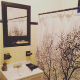 Resilient Tree Shower Curtain