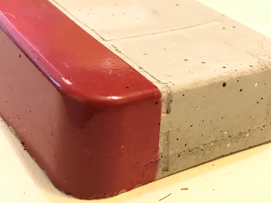 Sidewalk Slab - Red