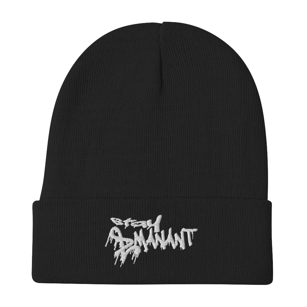 Stay Emanant Embroidered Beanie