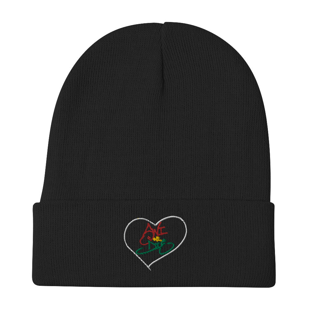 Swi or Die Rasta Embroidered Beanie