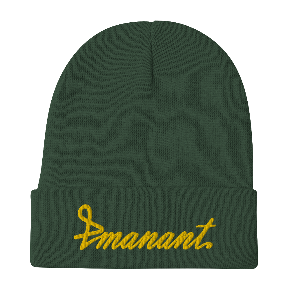 Embroidered Emanant Beanie