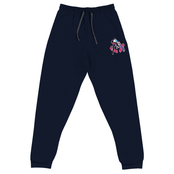 Embroidered Retro Free Skatin' Joggers