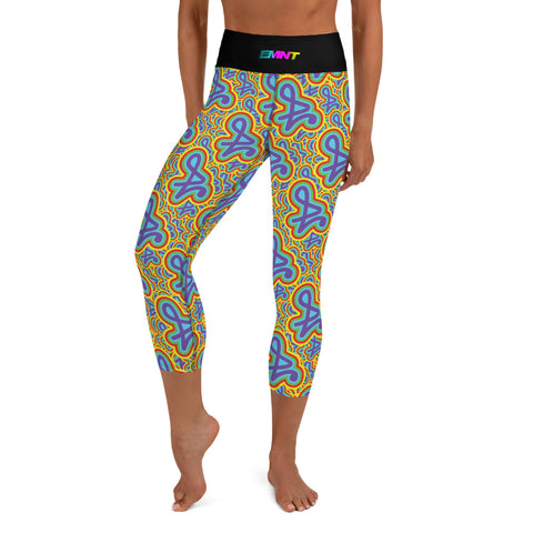 In Bloom Yoga Capri Leggings