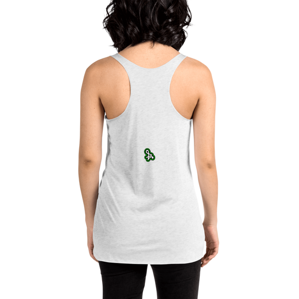 Racer Tank Black/Green