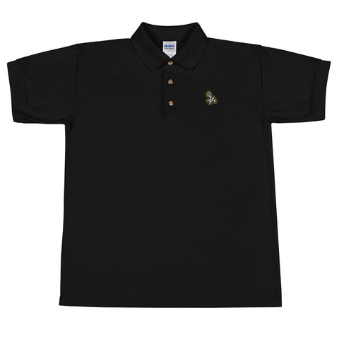 Embroidered Yellow Bloom Polo Shirt
