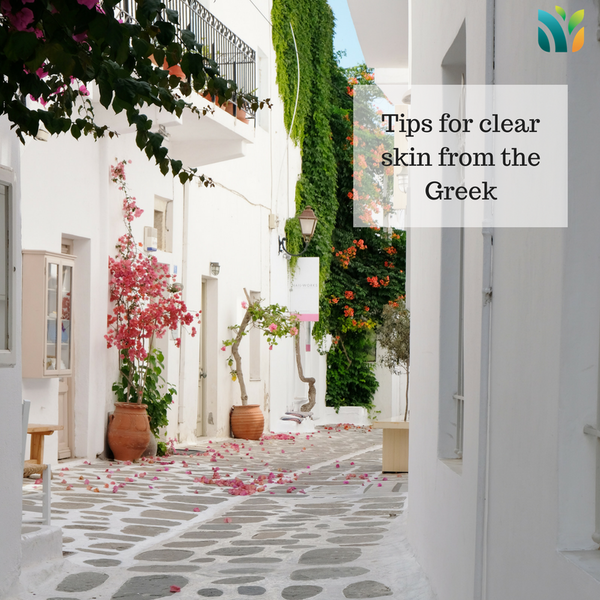 Skincare Tips from Greece