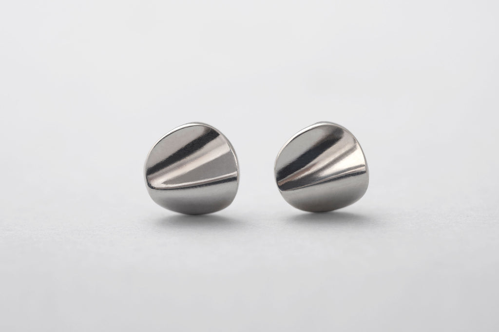 Sterling Silver Wave Earrings