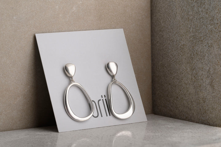 PETRA EARRINGS - STERLING SILVER